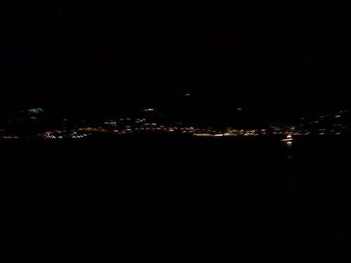 St Maarten at night...