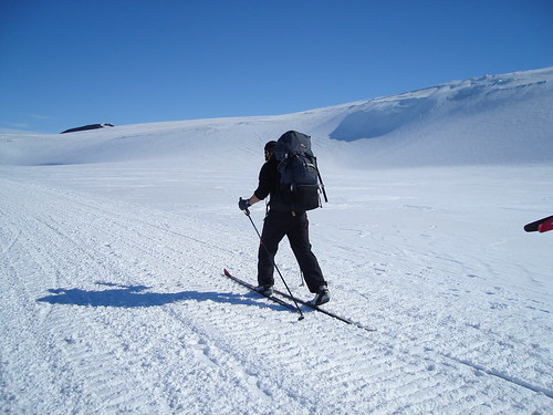 Nick Skis to Castle Rock