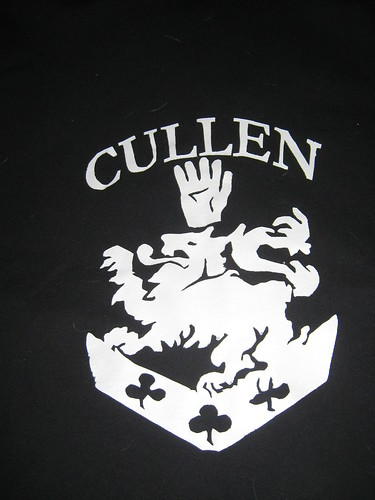 Twilight Cullen Stenciled Sweater