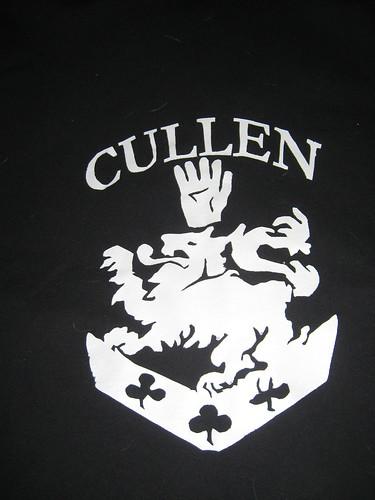 Twilight Cullen Stenciled Sweater