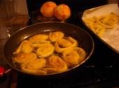 friggere le rondelle in olio di semi