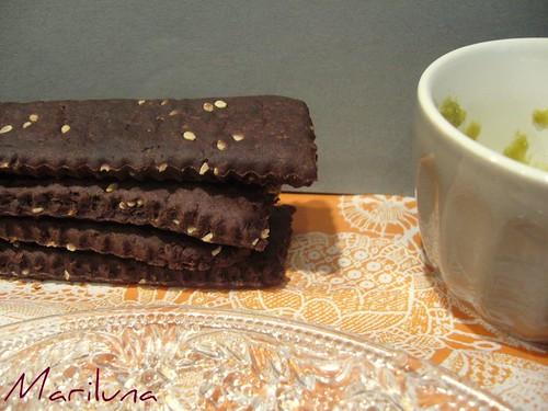 Biscottini  senza zucchero ai semi si sesamo