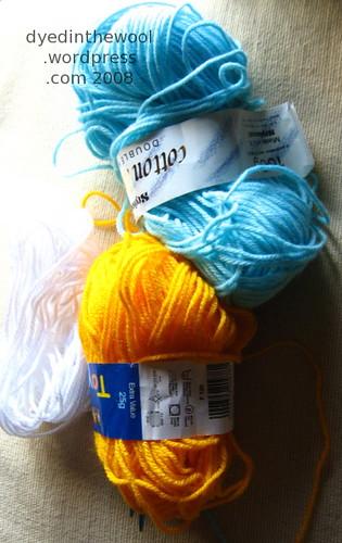 acrylic yarn for charity knitting