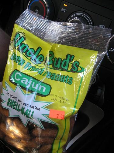 uncle bud's deep-fried cajun peanuts