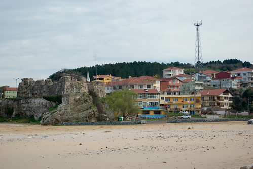 Riva castle and Riva village, Blacksea, Istanbul , Pentax K10d