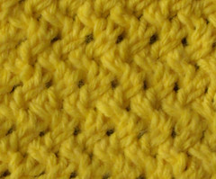 Open Basketweave Mesh - unblocked