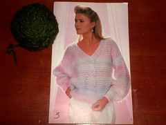 Cabled V-Neck Pullover Pattern
