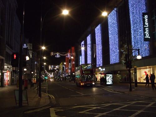 Go to Oxford Street when it's quiet