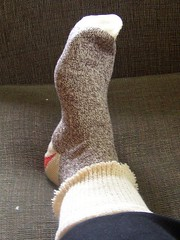 sock monkey socks!