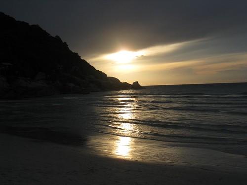 Sunrise on Haad Rin