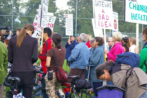 Surrey Gateway Rally photo by Rob Baxter
