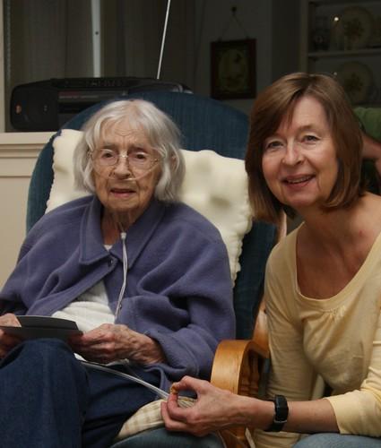 Grandma & Aunt Karen