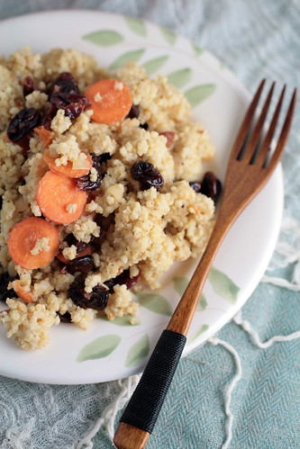 Sweet and Savory Millet Pilaf