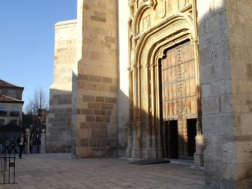 Puerta de la iglesia magistral en la actualidad
