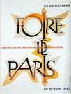 Cassandre. Poster Foire de paris 1957.