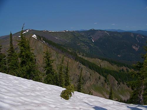 Penrose Peak, trail 385