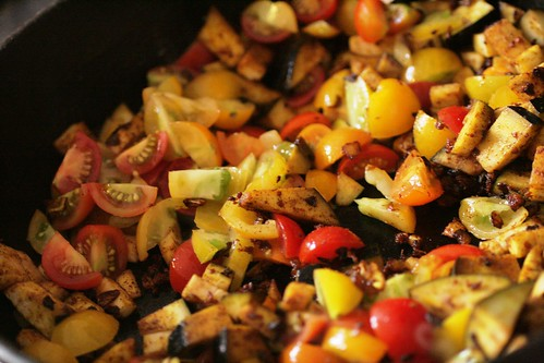 Saute of vegetables