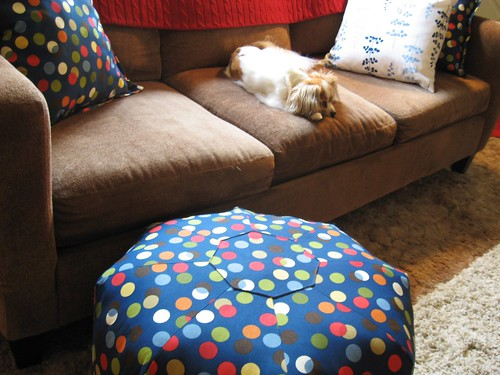 New gumdrop pillow.