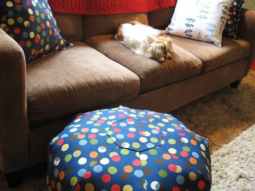 New gumdrop pillow.