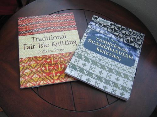 Some favorite knitting books