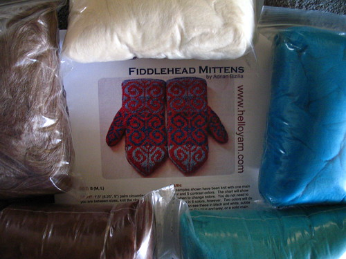 Fiddlehaed fibres