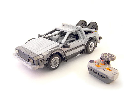 LEGO Power Functions Delorean