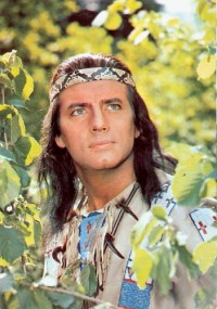 Image result for pierre brice as winnetou