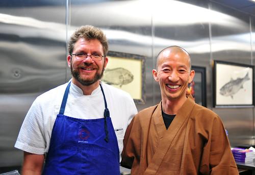 Michael Cimarusti and Hiroyuki Urusawa