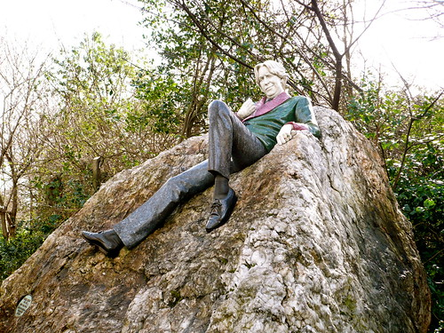 Oscar Wilde Statue in Dublin