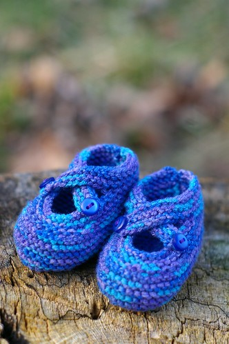 bamboo baby booties