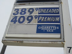 Gas prices are going up...