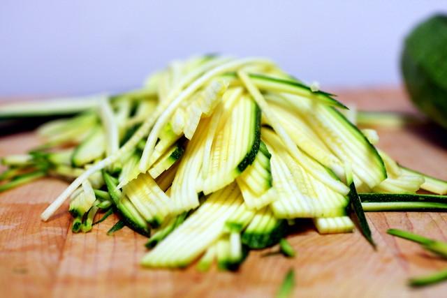zucchini strands