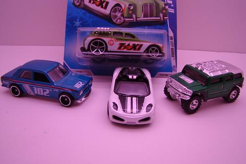 2009 Hot Wheel cars