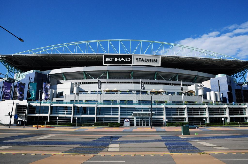 Etihad Stadium / Docklands Stadium (56,347