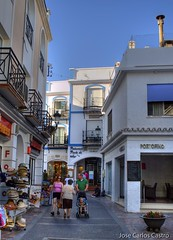 Calle peatonal de Nerja