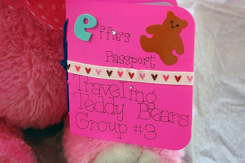 upclose of effie's passport