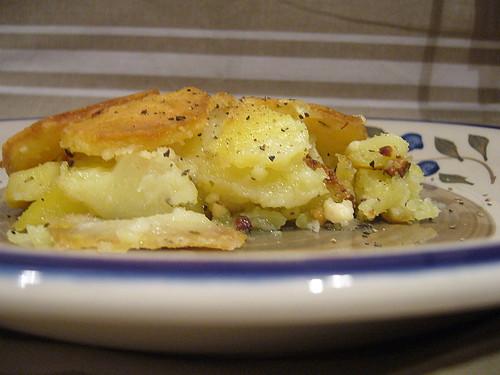 Frittata di patate alla Calabrese