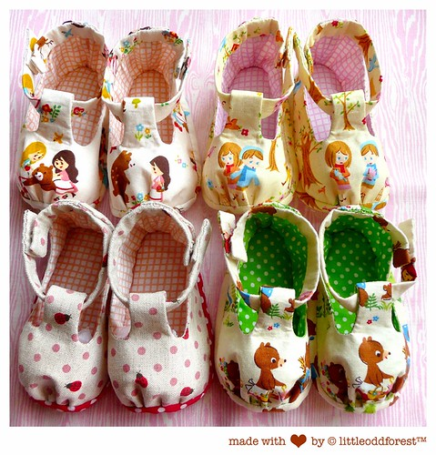 wee lil' shoes for wee lil' ones!