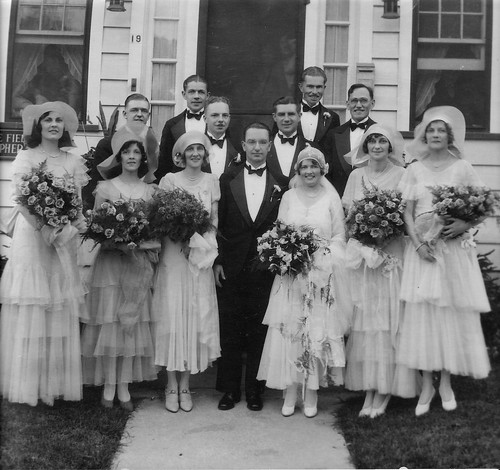 May Bloomer & Cholly Howley's Wedding Dad to left 2nd row.jpg
