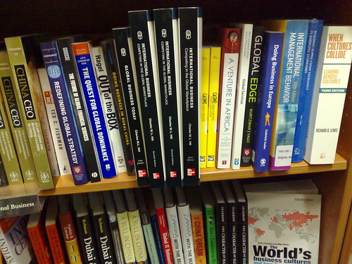 Global Services in Waterstones
