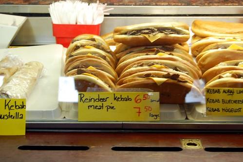 Reindeer Kebab Meat Pie