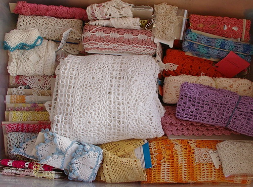 handmade lace box