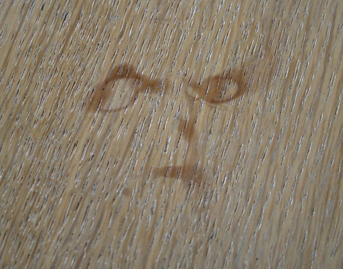Coffee stain face
