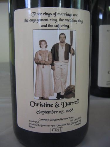 Wedding Wine from Jost by laurenoostveen.