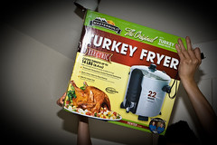 Day 18 Hail the Turkey Fryer!