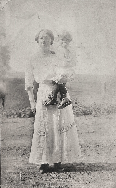 ethel and harry poush c1910