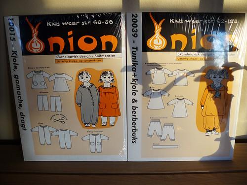 Onion sewing patterns