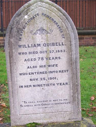WILLIAM QUIBELL by friendsofnewarkcemetery.