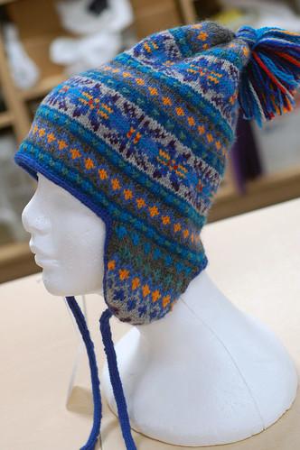 side of hat