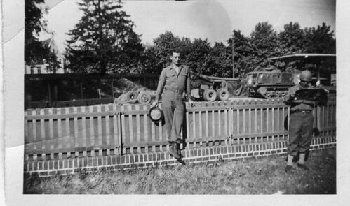 Dad in Germany 1945